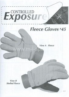 Střih Fleece Gloves